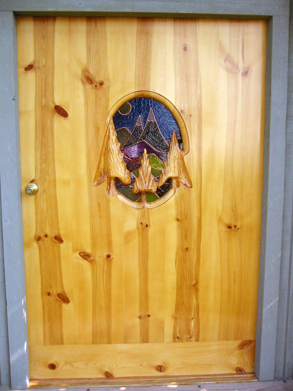 The shed door I made for my Mom